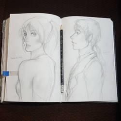 Saturday Stress Sketches