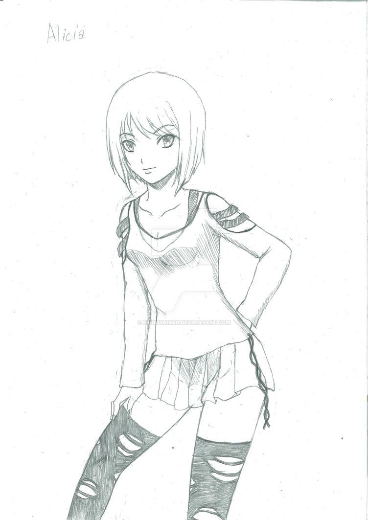 Alicia by EriGushiken