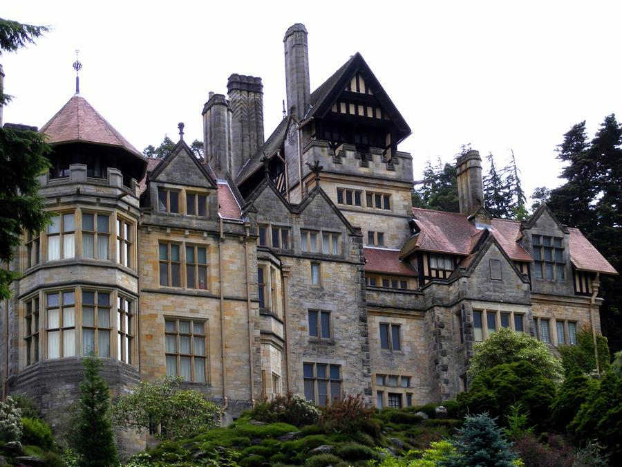 Gothic Mansion By PrintsILike