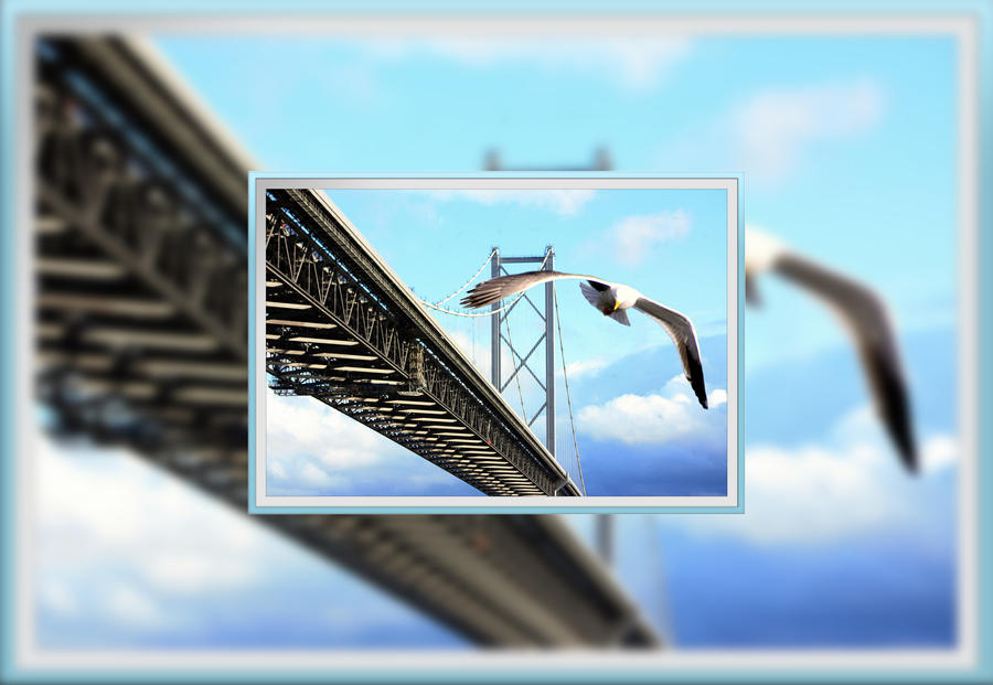 Forth Road Bridge Sentinel by printsILike