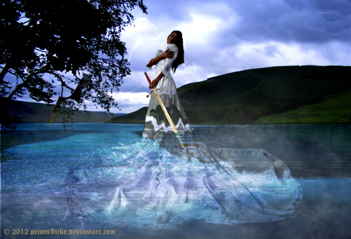 Lady of the Lake by printsILike