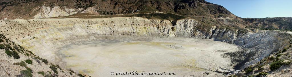 Volcano Caldera - Nisyros by printsILike
