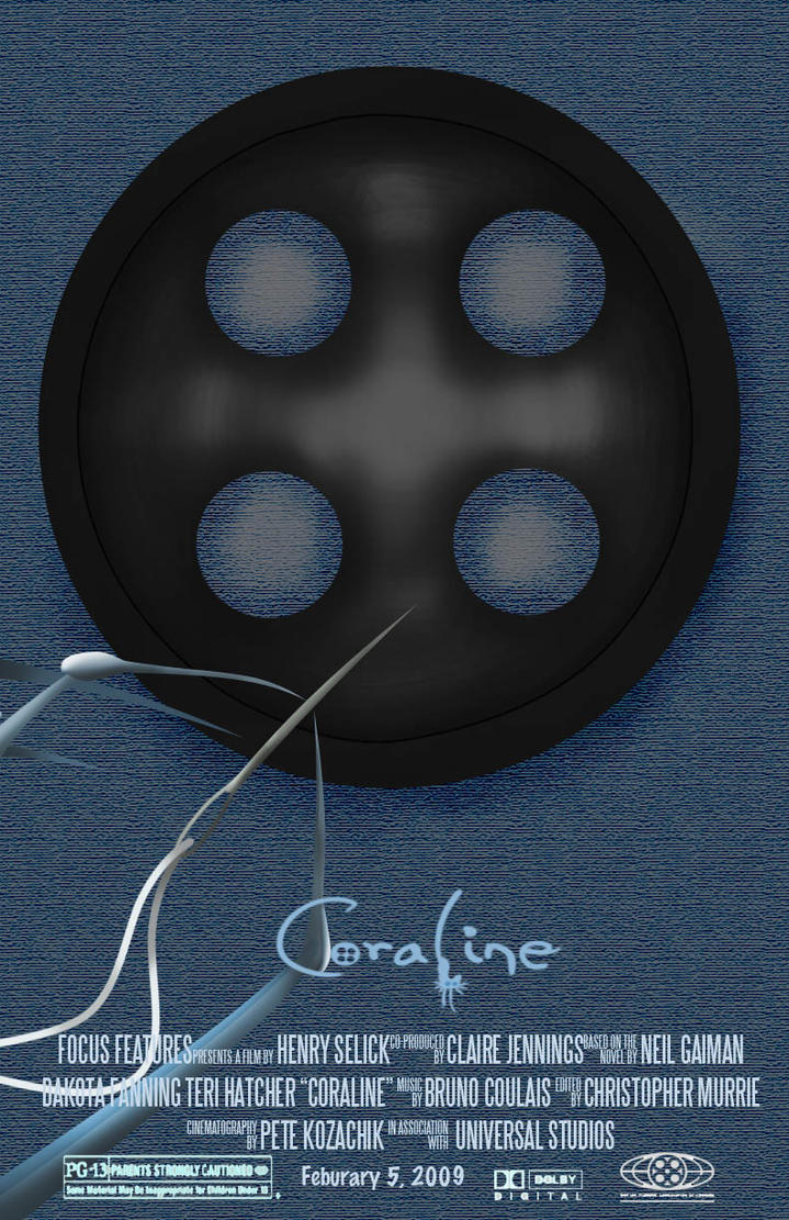 coraline movie poster by anmiegrl on deviantart