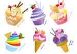MLP: FiM mane 6 sweets :3