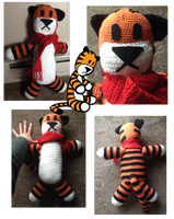 Hobbes crochet by Leafquill