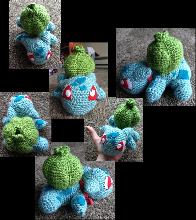 Bulbasaur crochet by Leafquill