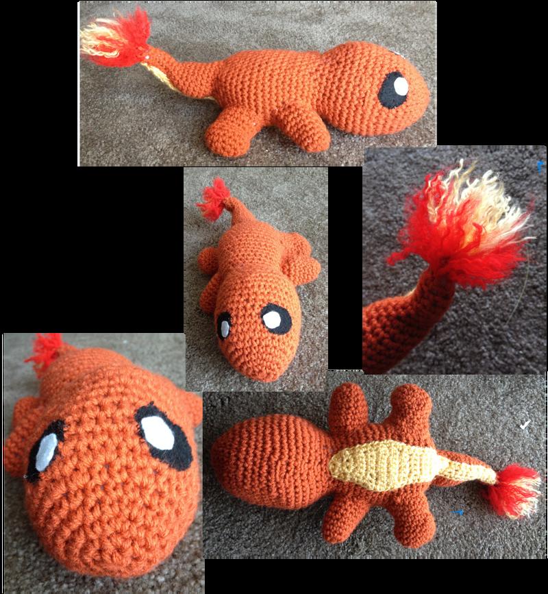 Charmander crochet