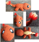 Charmander crochet by Leafquill