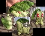 Chikorita crochet