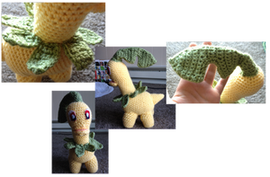 Bayleef crochet by Leafquill