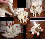 Ninetales crochet--Happy birthday, Isa!