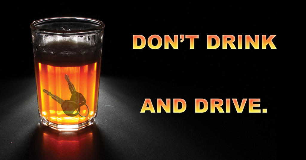 how to add a safe drink and drive message