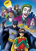 Batman '66 by thiagospyked