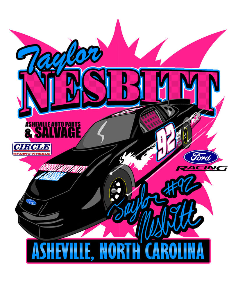 Taylor Nesbitt Shirt Design by hotrod2001
