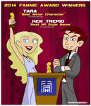 2-Time Fannie Award Winners!