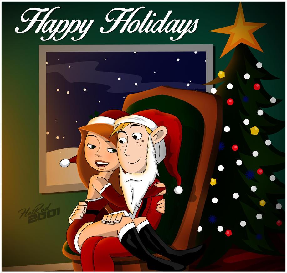 Christmas Cuddle by hotrod2001