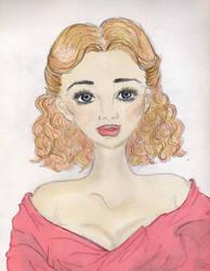 Doe-eyed Girl by happyhappysunshine