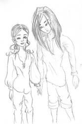 ZoiKun Sketch by happyhappysunshine