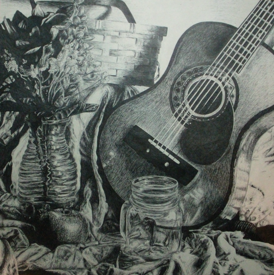 Guitar Still life by LDSheori