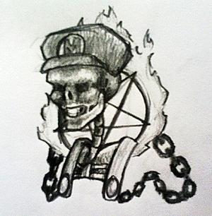 Metal Mario by Nickolanious