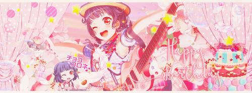 Bang Dream Ushigome Rimi happy Birthday by ChiSing321520