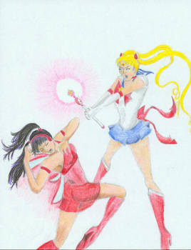 Musa versus Sailor Moon