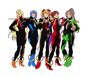 Oppositio Senshis - Colored by nhiaphengthao