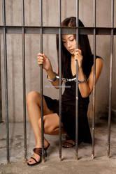 Handcuff girl