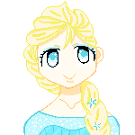 Free Pixel Elsa by Bloody-Prison-Rose