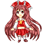Reimu  Pixel Doll F2U by Bloody-Prison-Rose