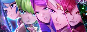 League of Legends Star Guardians vs Baron by iDara09