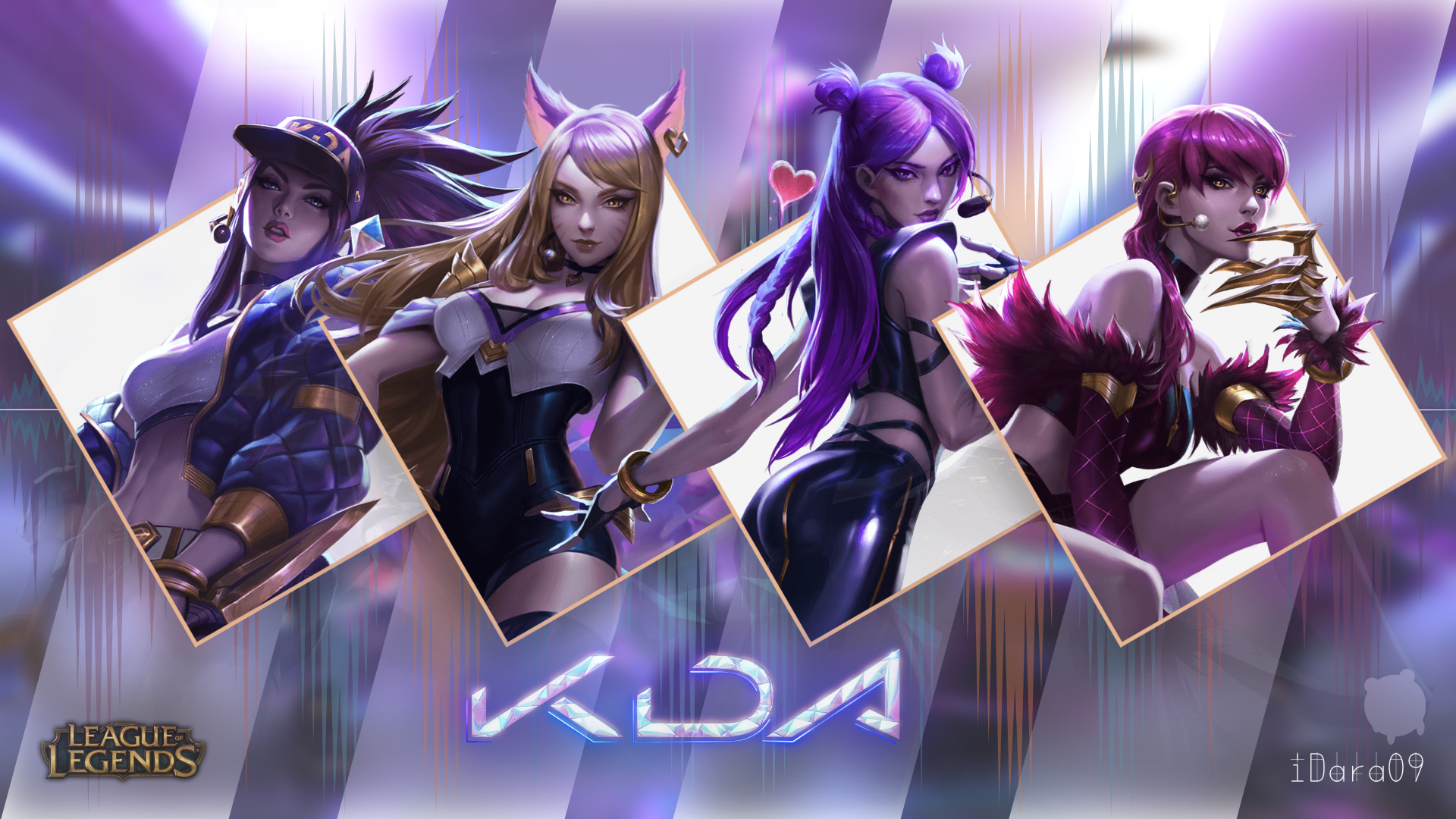League Of Legends Kda Skins By Idara09 On Deviantart