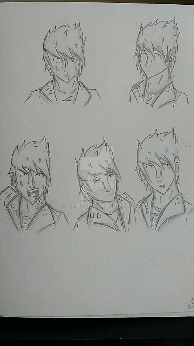 Quick Sketch- Alice facials^-^XD!! by AshinoX1