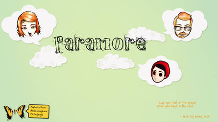 paramore on the sky by whyXXII