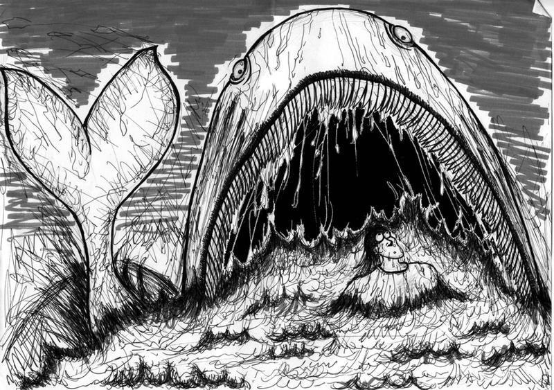 Jonah and Moby by knalleknuten
