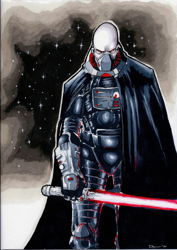 Sith Warrior by dsilvabarred