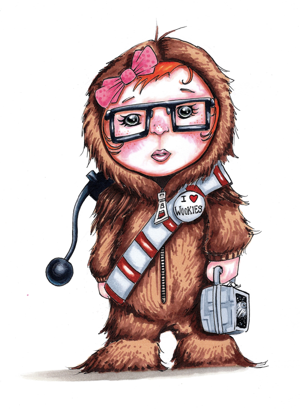 Wookie Lover by dsilvabarred