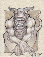 Elenoque'she - The Demon Of Babylon by dsilvabarred