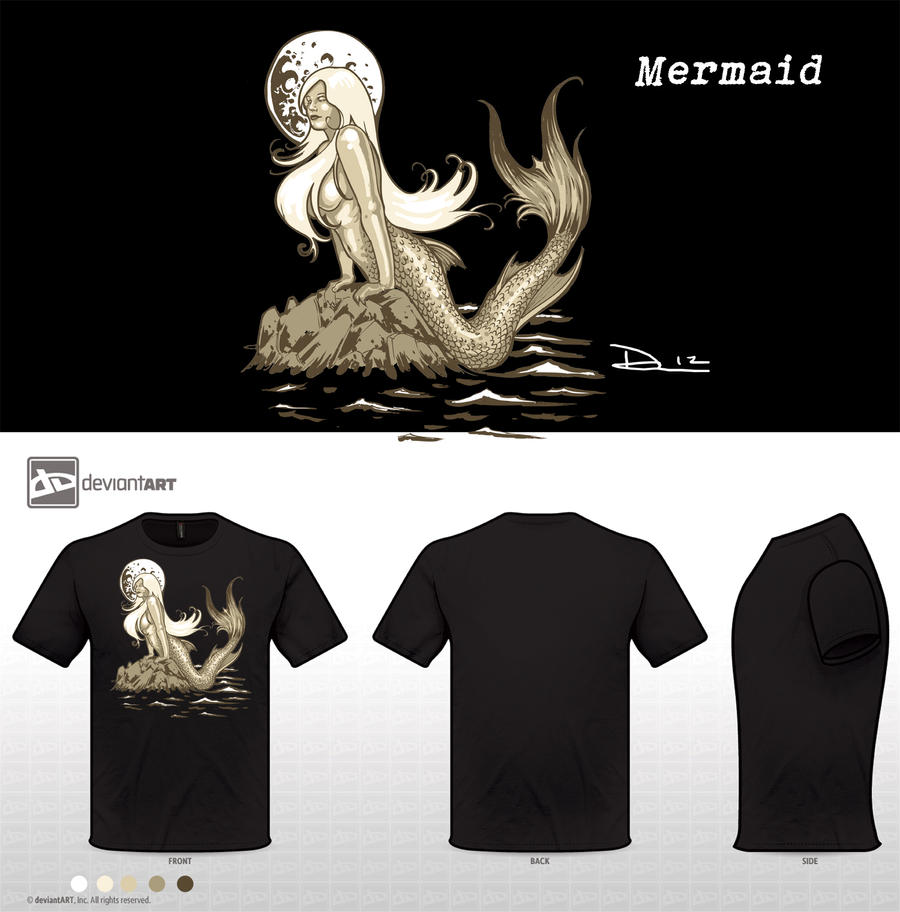 Mermaid by dsilvabarred