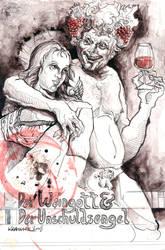 the god of wine ... by badbasilisk