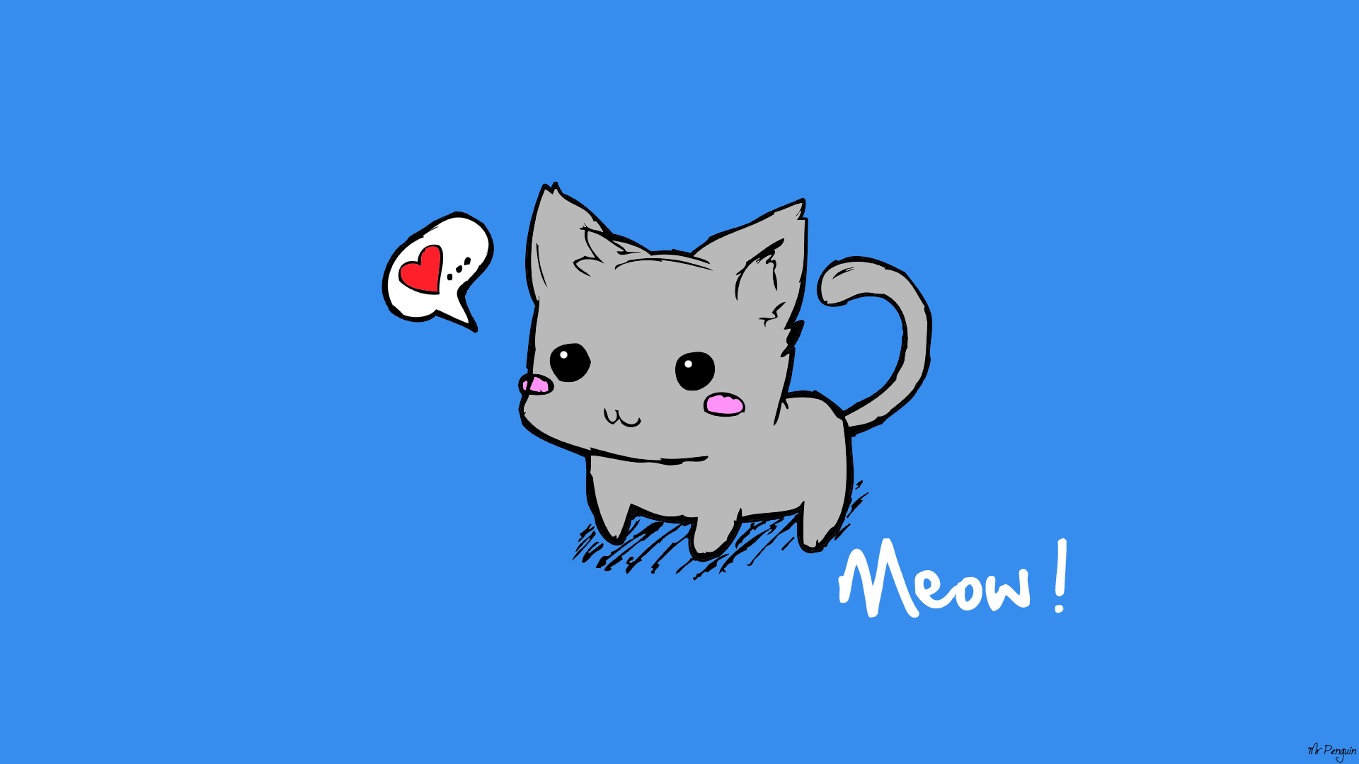 Cute Kitten by ImMrPenguin on DeviantArt