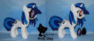 Dj Pon3 /vinyl Scratch pony Plush 2