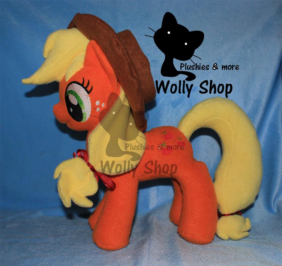 AppleJack! Plush Pony by Vegeto-UchihaPortgas