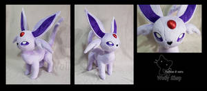 Espeon by WollyShop