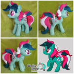 Fizzy Plush twinkle eye pony by WollyShop