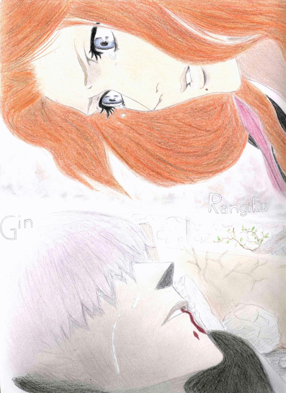 Gin's death (Bleach) by BeyonDream-98