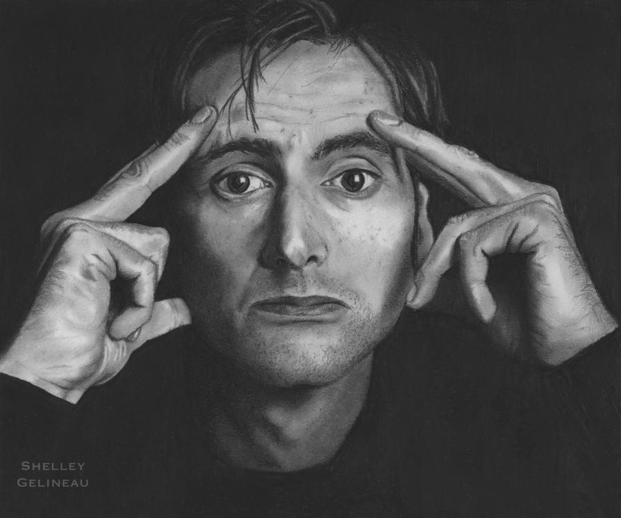 David Tennant by Jellyneau
