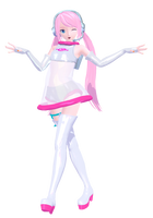 [Project Diva] ::Space Channel 39 Luka:: by Dreamyloid