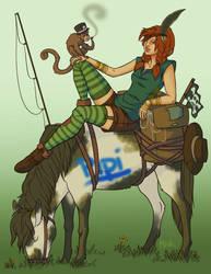 Pipi Longstocking by Roux707