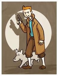 Tintin by Roux707